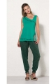 Pants original for summer, viscose, comfortable with the ankles with elastic