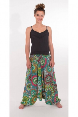 Harem pants 3en1 indian made, printed baobab original