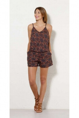 Combi-short range, polyester, printed, Morocco colorful