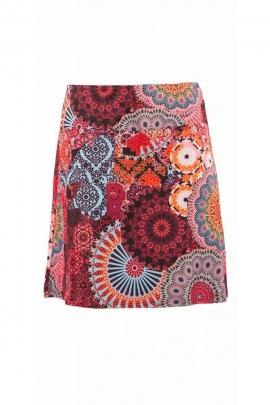 Midi skirt, bohemian and colorful, effect, portfolio, printed, hypnotic original