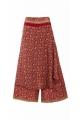 Pants sari original, effect surjupe very stylish, bohemian-style colorful