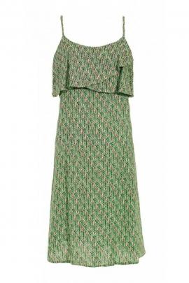 Robe d'été courte bohème, en viscose, imprimé dakar original et coloré
