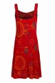 Summer dress original straps, with the bottom nicely flared, style, hippie chic