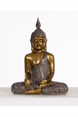 Sitting Buddha Statue, meditation position, positive energies