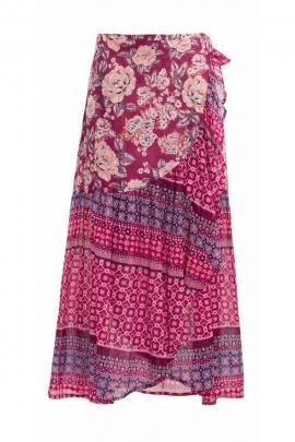 Long skirt original style hispanic, skirt bohemian in different sails