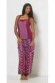 Pants were original, patterns, zigzag, colorful, style Aladdin