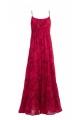 Long dress bohemian original, dress flower colorful trend vintage