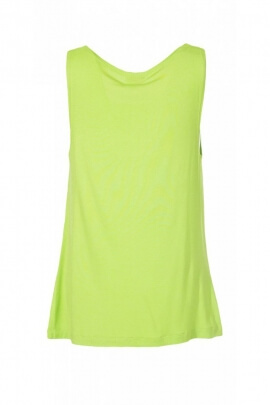 T-shirt tank top casual, strapless, original, cowl neck