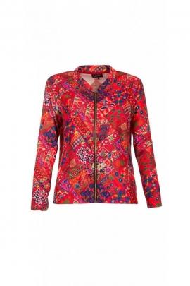 Jacket sweatshirt casual, printed Tamel colorful and original