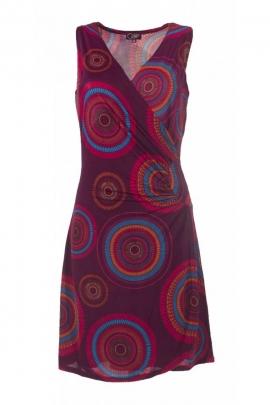 Short dress cover-heart ethnic draped over the side, skirt portfolio