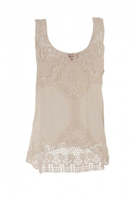 Tank embroidery Anglaise