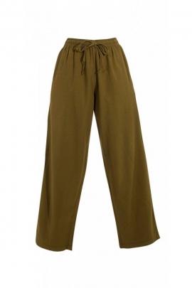 Comfortable pants inside kingdom cotton stone washed