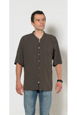 Men's shirt Kurta light cotton united Stone Wash