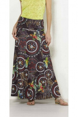 Long skirt original and slightly stretchy