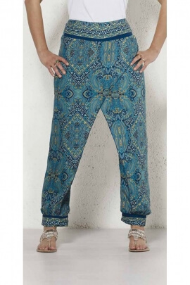 Pant sari with flap fake pareo
