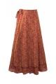Skirt sari long portfolio, lined, and grande size