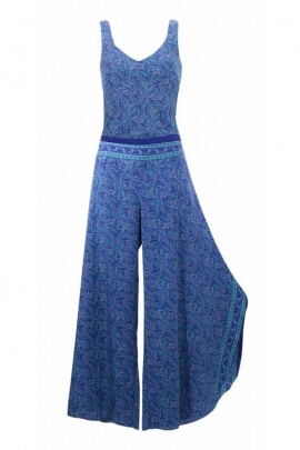 Combi long home fabrics Sari ethnic style