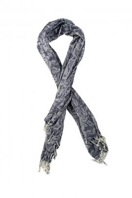 pink jacquard scarf adventurer