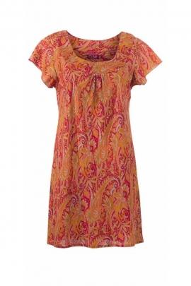 Tunique sari en polyester tendance gipsy