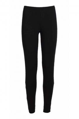Black cotton jersey legging