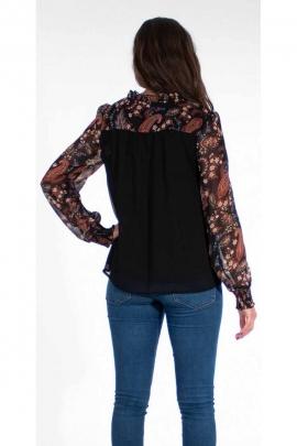 Original casual polyester chiffon blouse