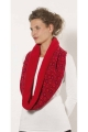 Babacool polyester mesh snood scarf