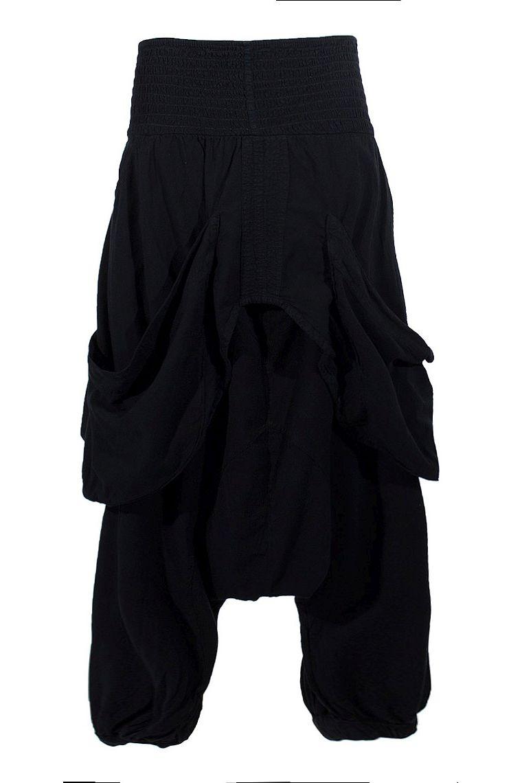 96ae0ccf207b Sarouel large pour femme avec poches et ceinture élastique