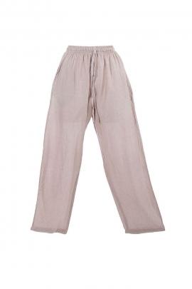 Pantalones de Hombre de lona de algodón natural