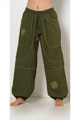 sarouel pants Cotton embroidered man pockets