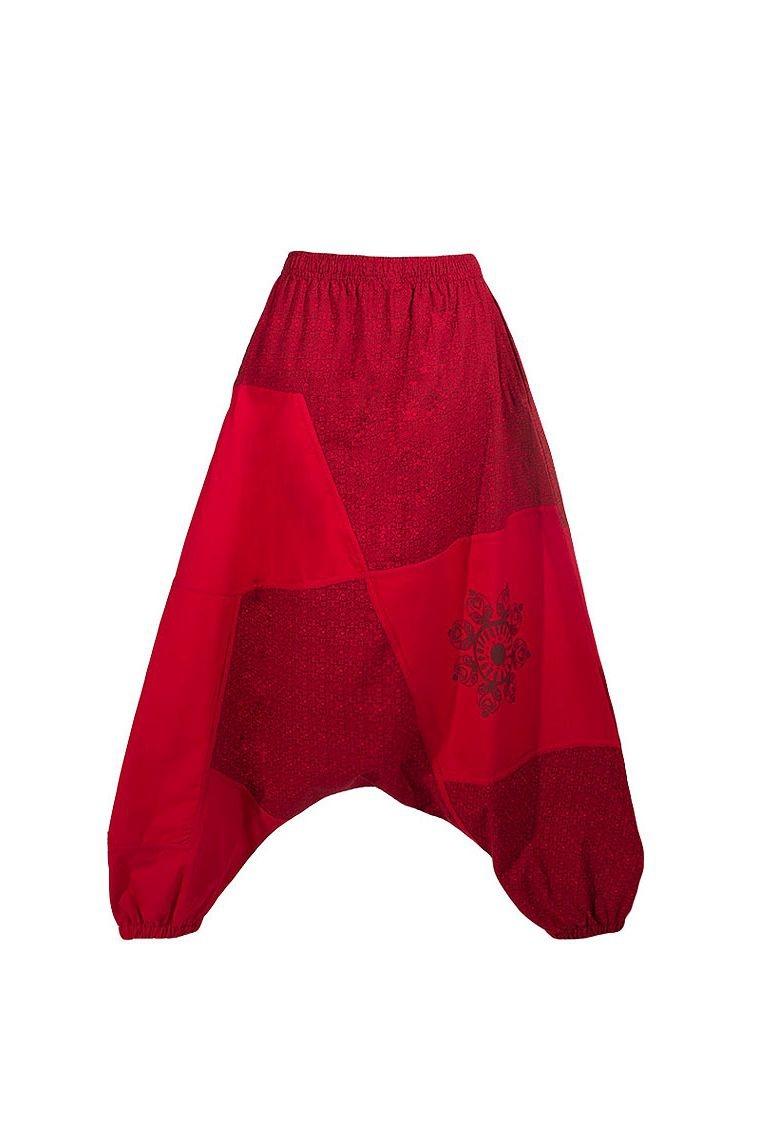 bfca2f0cffe0 Sarouel pour femme 100% coton avec imprimé et ceinture élastique
