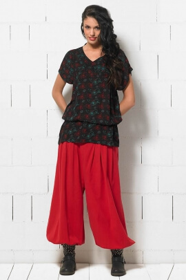 Sarouel cotton woman embroidered point