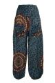 Baggy trousers pockets printed Mandala