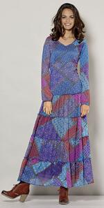 Ethnic bohemian dress