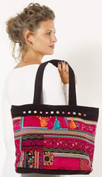 Bohemian hippie chic ethnic bags