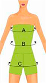 Guide des tailles buste femme
