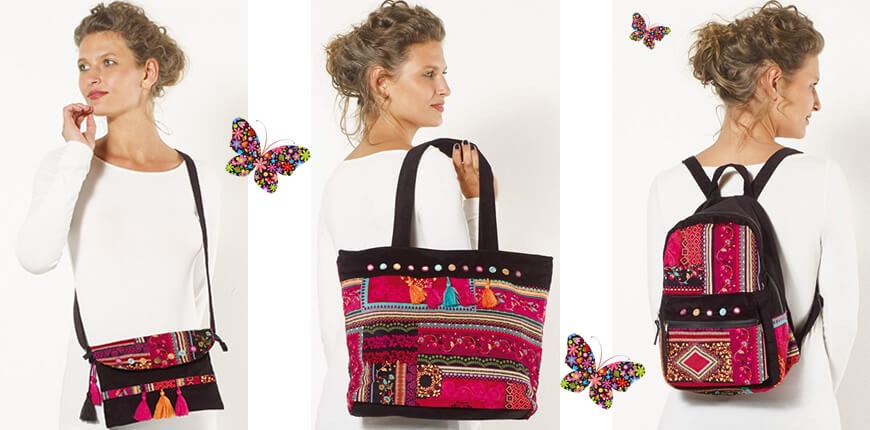 The bag ethnic hippie chic : accessory chameleon !