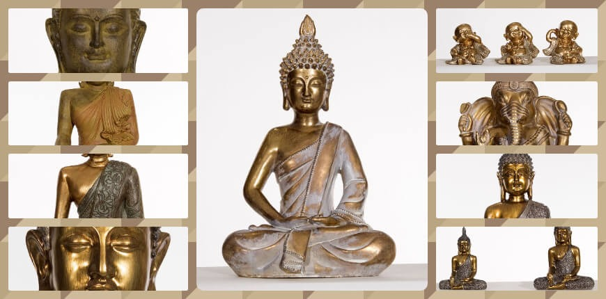 Statue of Buddha : when the asian is invited into the interior design ethnic