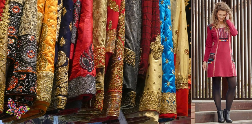 The indian influence, the cradle of the fashion ethnic